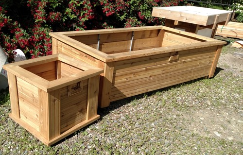 Merveilleux Planting Box And Raised Garden Bed